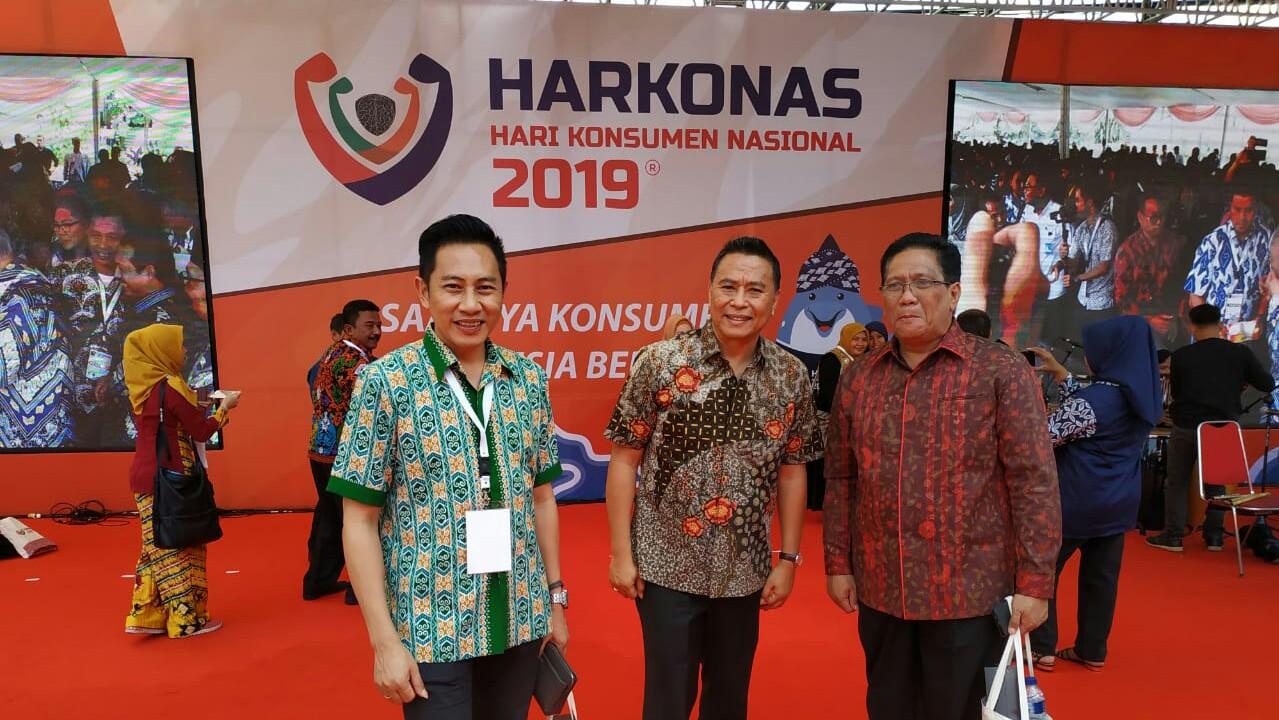 Walikota Tomohon Hadiri Harkonas di Bandung