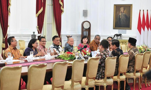 Dampingi Ketua PGI, Gubernur OD Undang Presiden Jokowi ke Manado