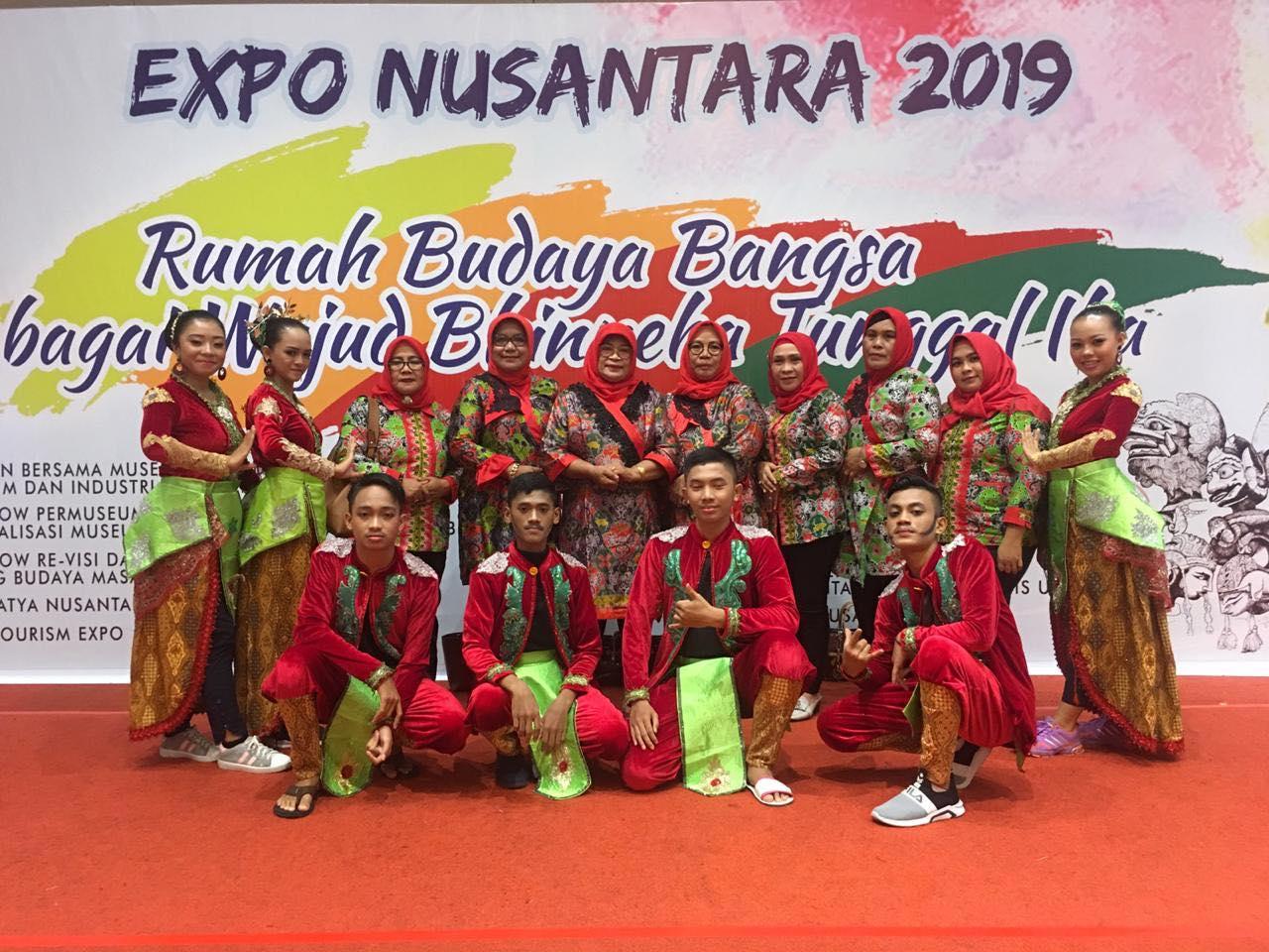 Budaya Bolmut Meriahkan Nusantara Expo 2019  Di TMII Jakarta