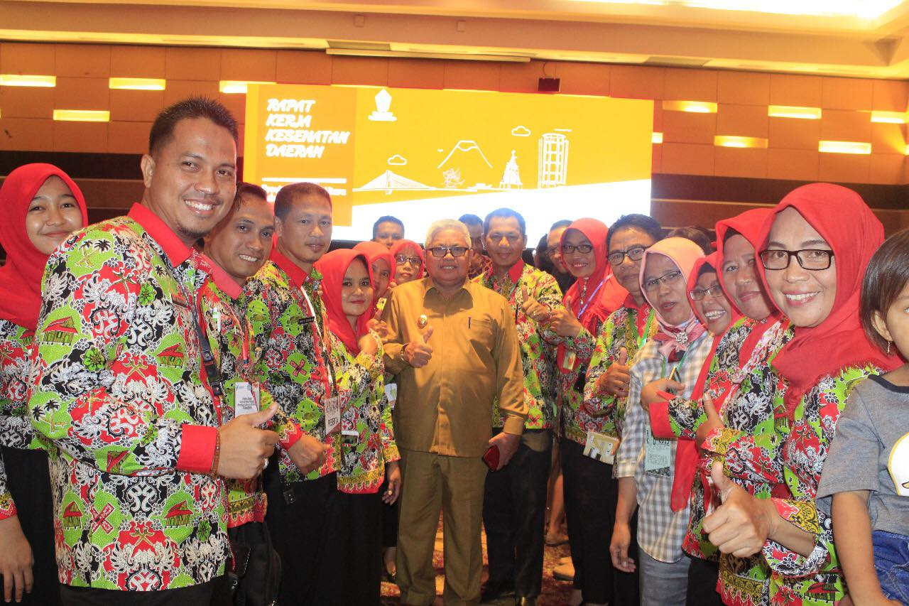 Wakil Bupati Amin Lasena Hadiri Rapat Kerja Kesehatan Daerah