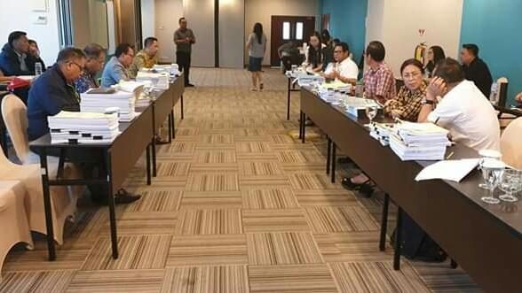 Banggar DPRD Gelar Pembahasan Bersama TAPD Terkait Ranperda LPJ APBD 2018