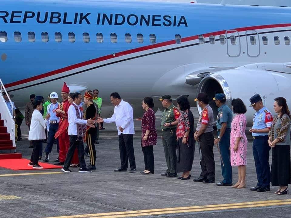 Kunjungi Manado-Likupang, Presiden Jokowi Sebut Sulut Provinsi The Rising Star