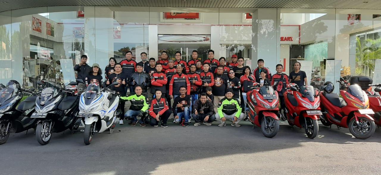 PCX Heritage Trip DAW Bersama Komunitas HPCI Chapter Manado