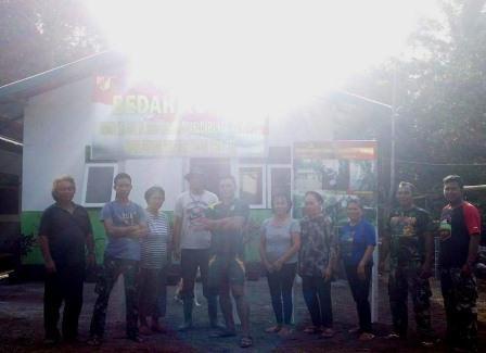 TNI Manunggal Membangun Desa (TMMD) Mengangkat Keterpurukan Warga