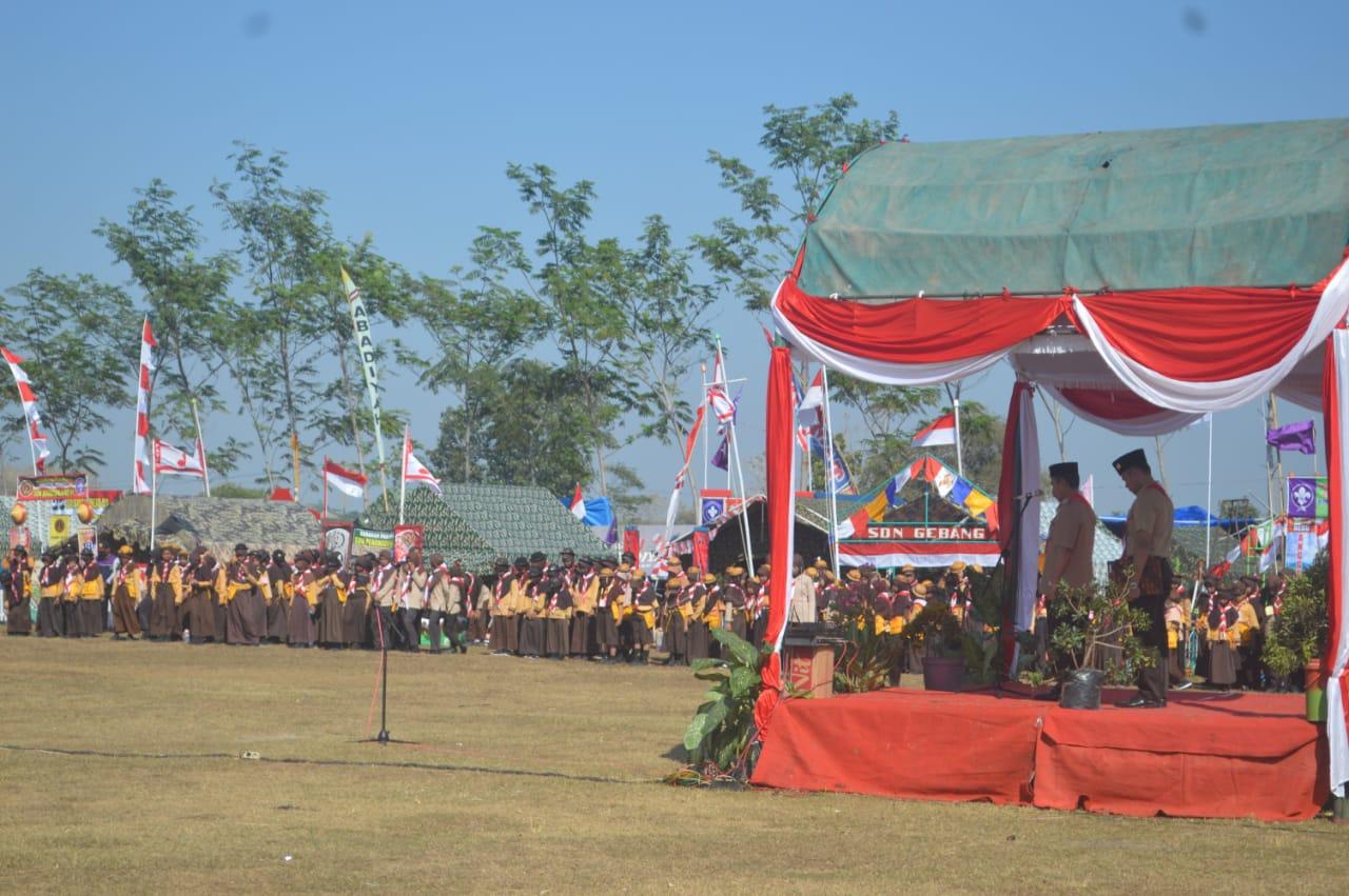 Upacara HUT Pramuka ke -58 Tahun 2019 tingkat Kwarcab Kabupaten Pati