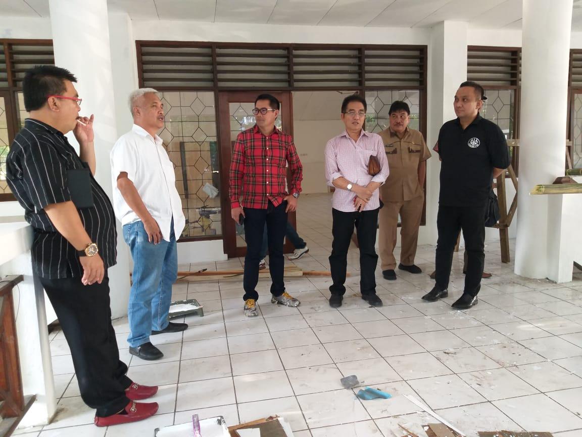 JG Tepati Janjinya Rehab Gedung Sulut Bridge Centre