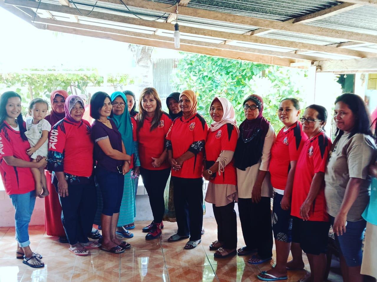 Kunjungi Bunaken, Sonya Kembuan Ingin Setiap Kelurahan Punya Produk Andalan