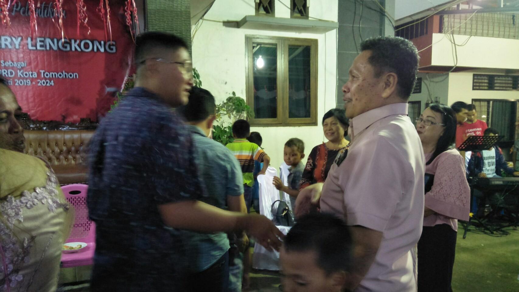 Dilantik Anggota DPRD Tomohon, Noldie Lengkong Gelar Ibadah Syukur