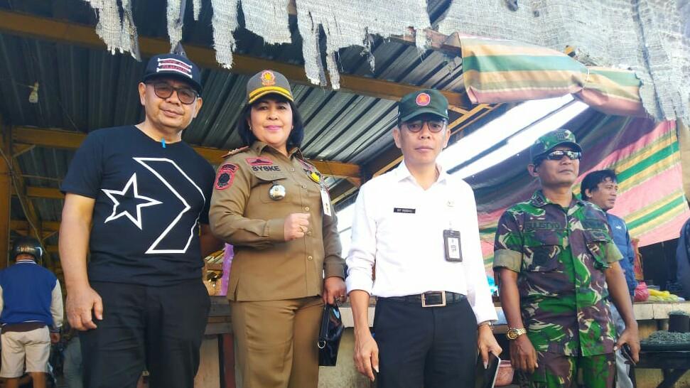 Mandagi Wakili Walikota Pada Karya Bakti TNI di Tomohon