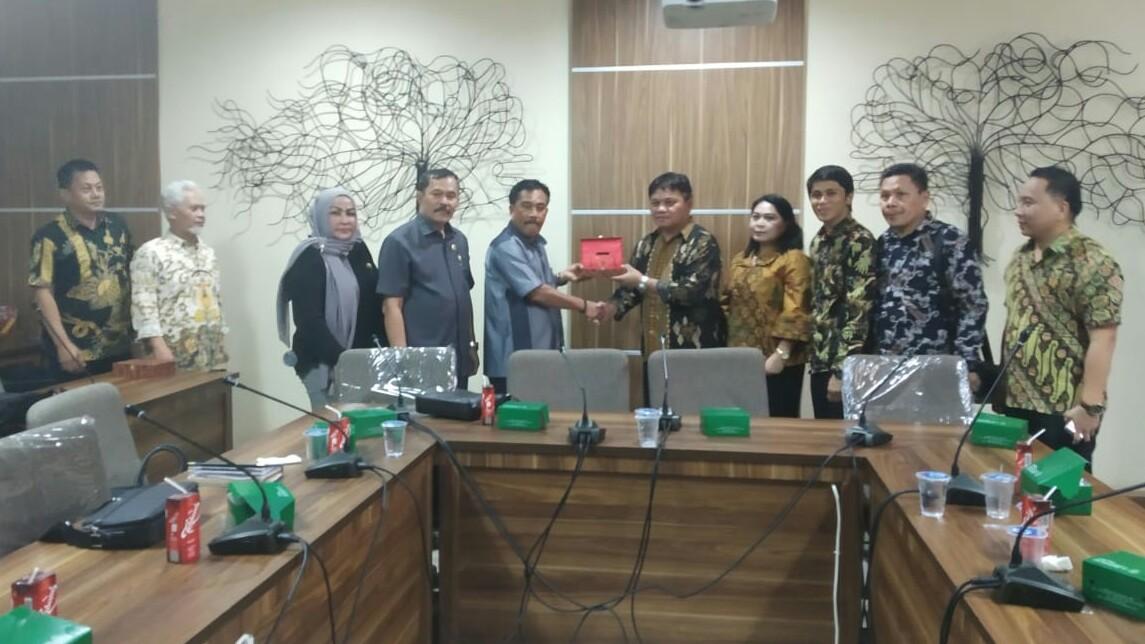 Komisi I Sambangi DPRD Depok