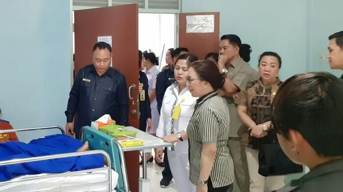Komisi III DPRD Tomohon Pantau Pelayanan RSUD Anugerah
