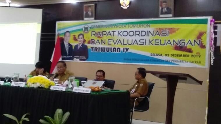 Rakorev Keuangan Triwulan IV 2019