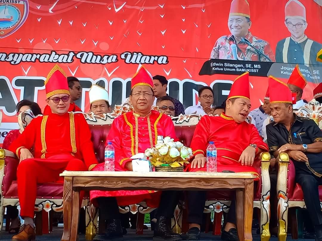 JG Sebut Pesta Tulude Pererat Persatuan dan Persaudaraan di Bumi Tonsea