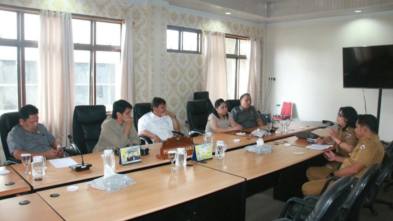 Komisi I DPRD Hearing Lurah Kakaskasen I
