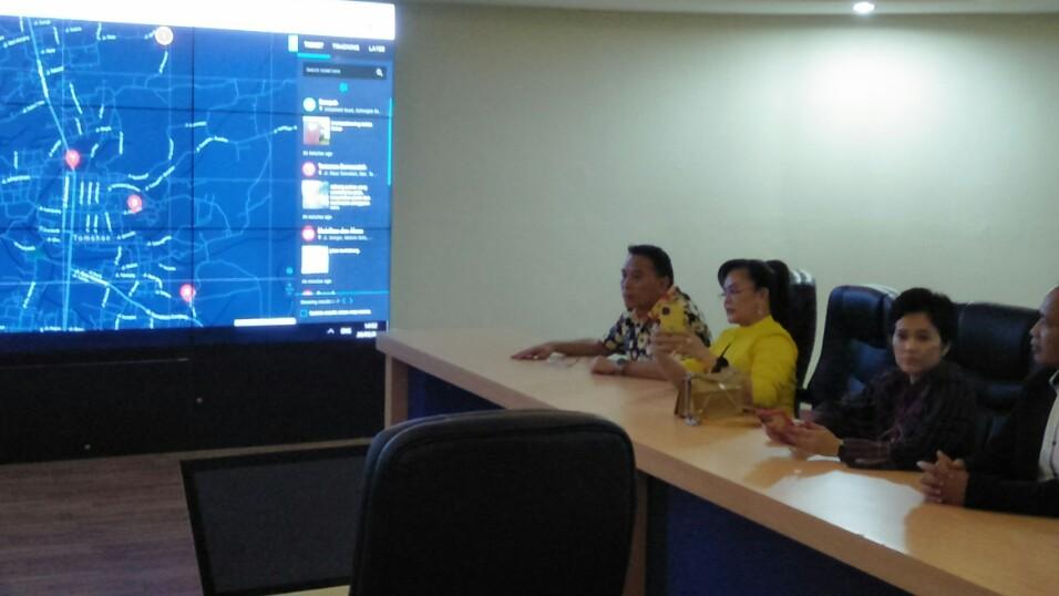 Maksimalkan Program Smart City Tomohon, Aplikasi Qlue Diluncurkan