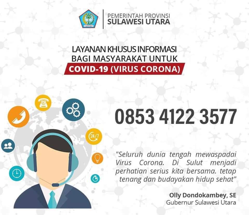 Corona Pandemi, Gubernur : Hindari Keramaian