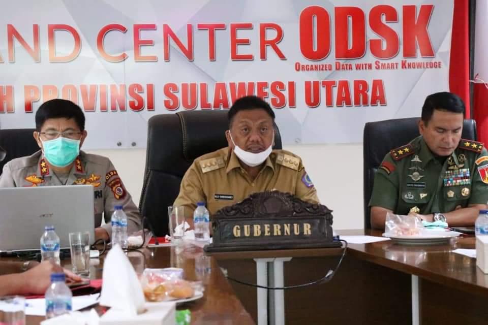 Gubernur Olly Ajak Bupati dan Walikota  Bantu Masyarakat Terdampak Covid-19