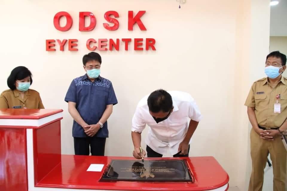 Eye ODSK Center Diresmikan Gubernur OD