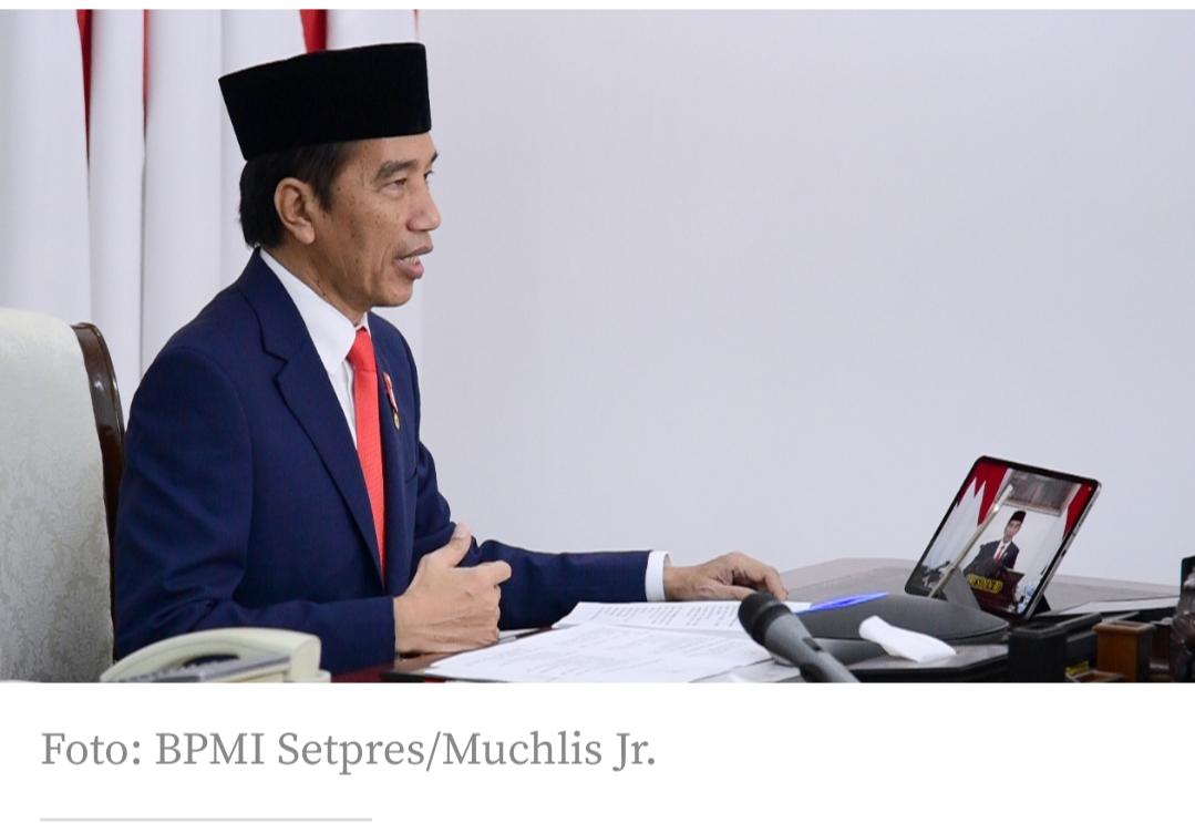 Jokowi Luncurkan 55 Produk Konsorsium Riset dan Inovasi Covid-19