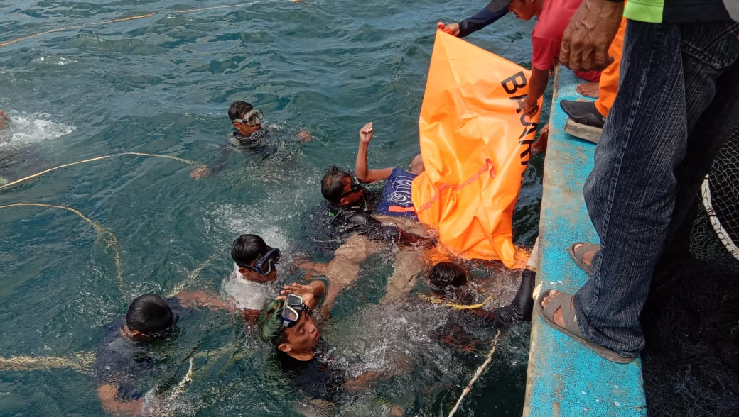 Terpeleset Dari Kapal, ABK Asal Madidir Unet Ditemukan Basarnas Dalam Keadaan Meninggal Dunia