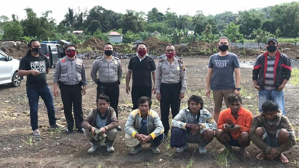 Team Totosik Amankan 5 Pengeroyok Kawasan Tiga Berlian