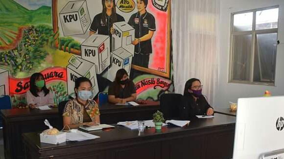 KPU Tomohon Gelar TOT Coklit PPDP