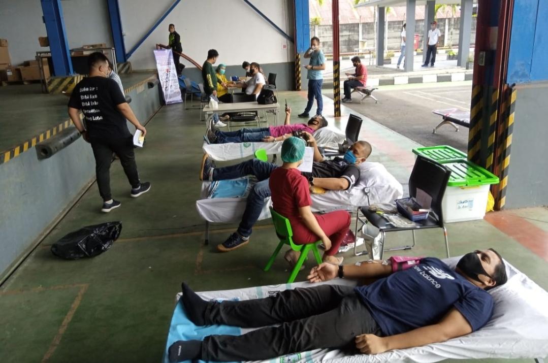 Aksi Donor Darah DAW Honda Sumbangkan 31 Kantong Darah