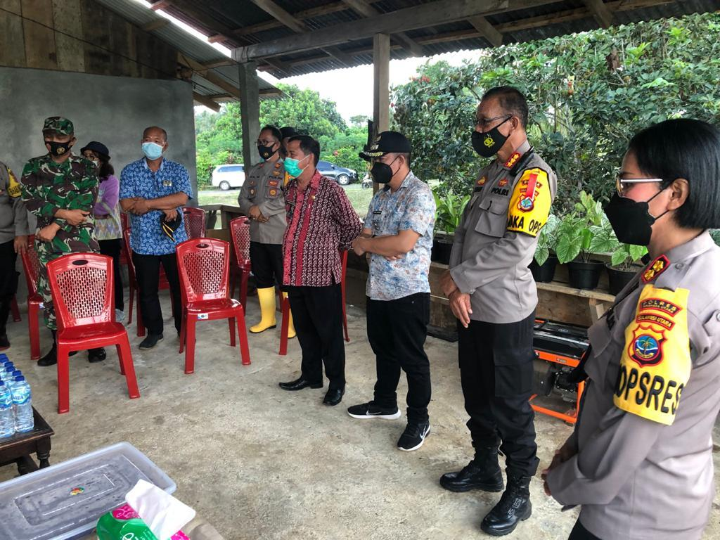 Dirbinmas Polda Sulut Pimpin Penilaian KTN di Desa Paslaten Kauditan