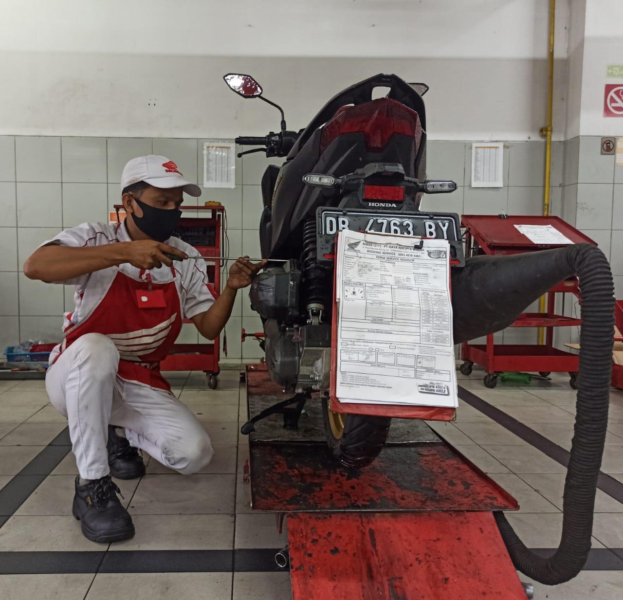 AHASS Berikan Promo Paket Hemat Servis Motor Matik Honda