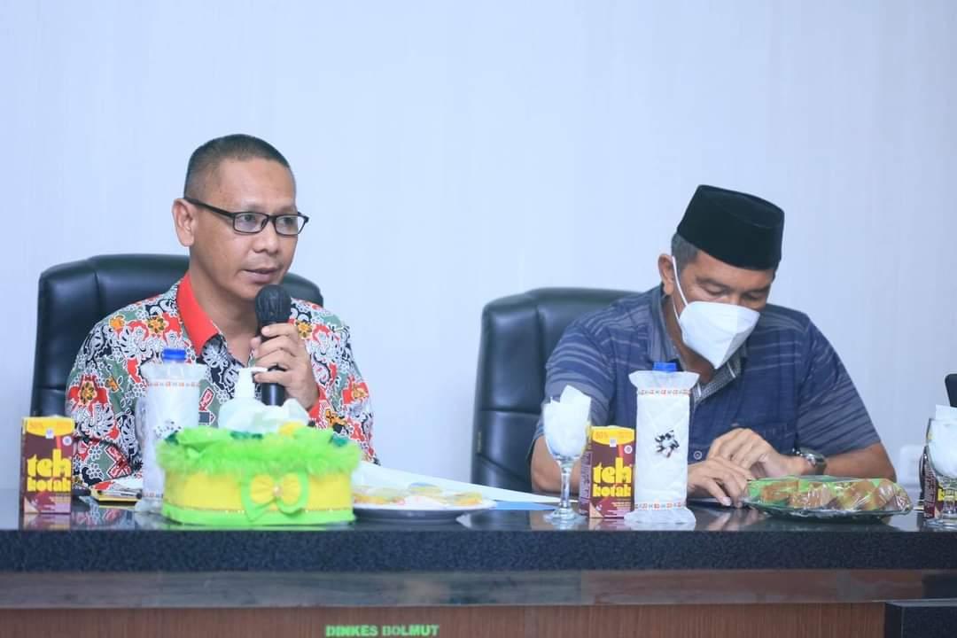 Asisten I Setda Buka Kegiatan Advokasi Kabupaten Sehat 2021