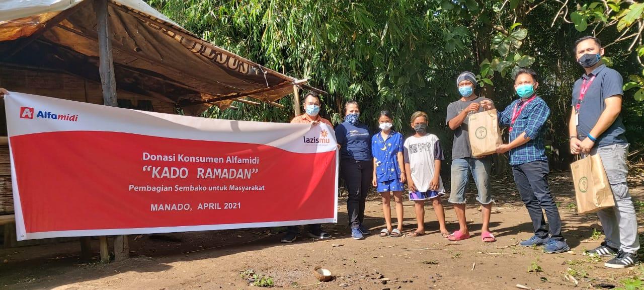 IWO Sulut Bagikan 'Kado Ramadhan' Alfamidi