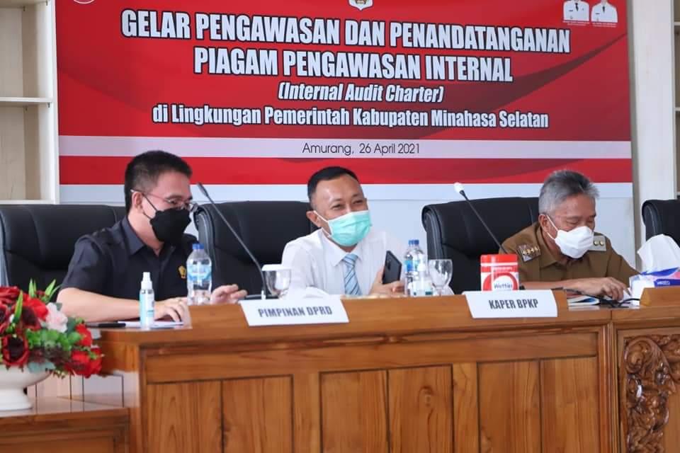 Inspektorat Daerah Minsel Laksanakan Kegiatan Gelar Pengawasan Internal Pemerintah
