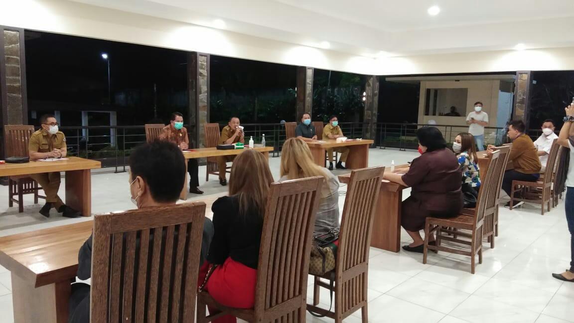 Wawali Wenny Sambut Kunjungan DPRD Sulut Dapil Tomohon-Minahasa