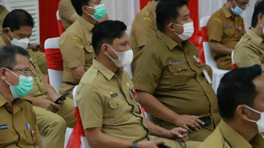 Pj Sekot JR Wakili Caroll-Wenny, Hadiri Kunjungan MenPAN-RB