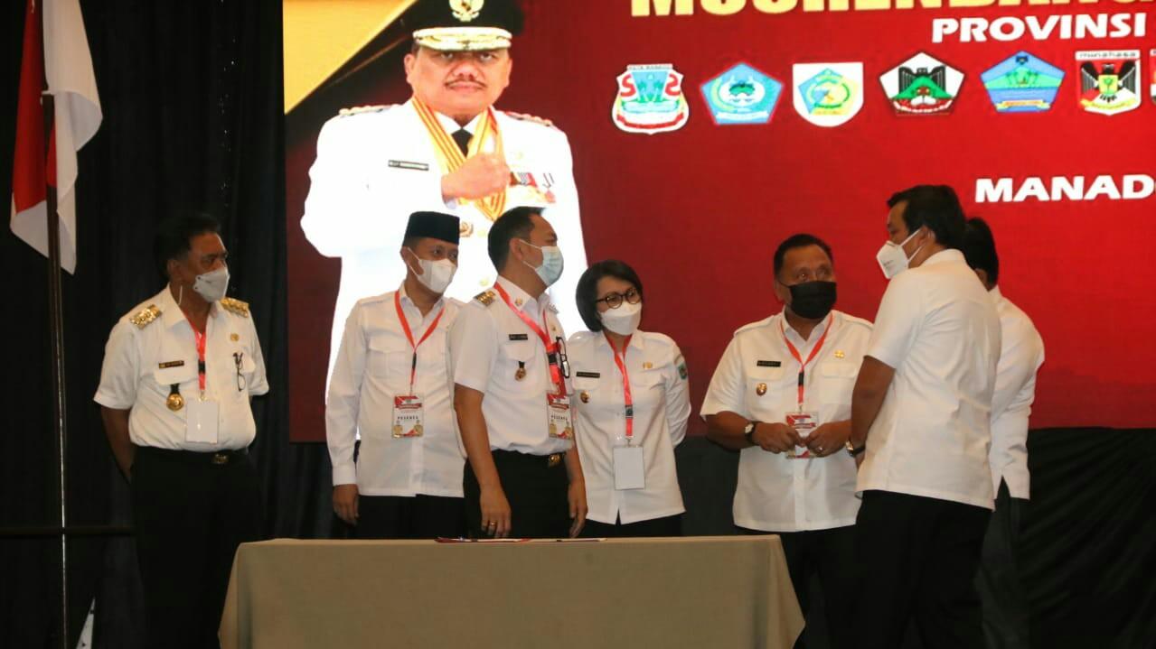 Walikota Caroll Ikut Musrenbang RKPD Provinsi Sulut