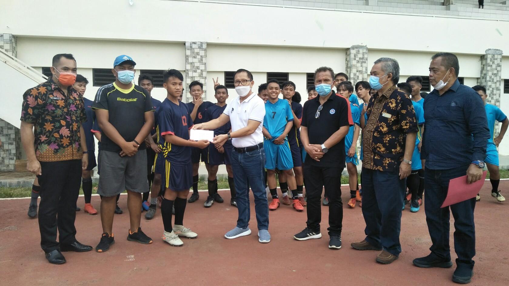 Gerald Lapian Suport Savior Da'wan Ikut Seleksi Timnas U-16 di Jakarta