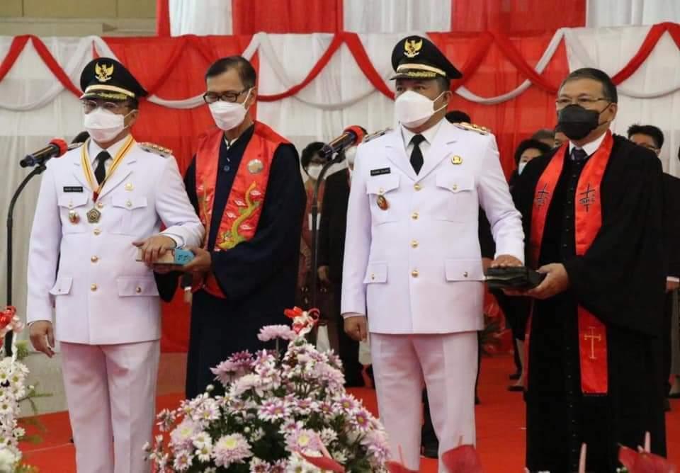 Gubernur OD Lantik AARS, Kader Banteng Resmi Pimpin Manado
