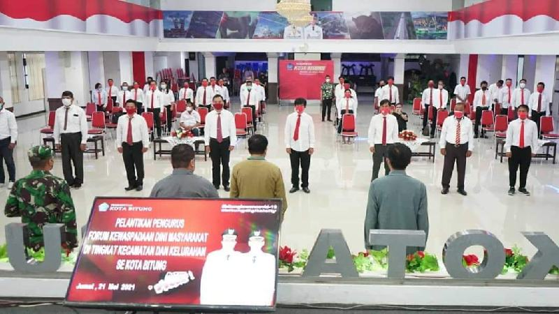 FKDM Ujung Tombak Sosialisasi Pencegahan Covid-19