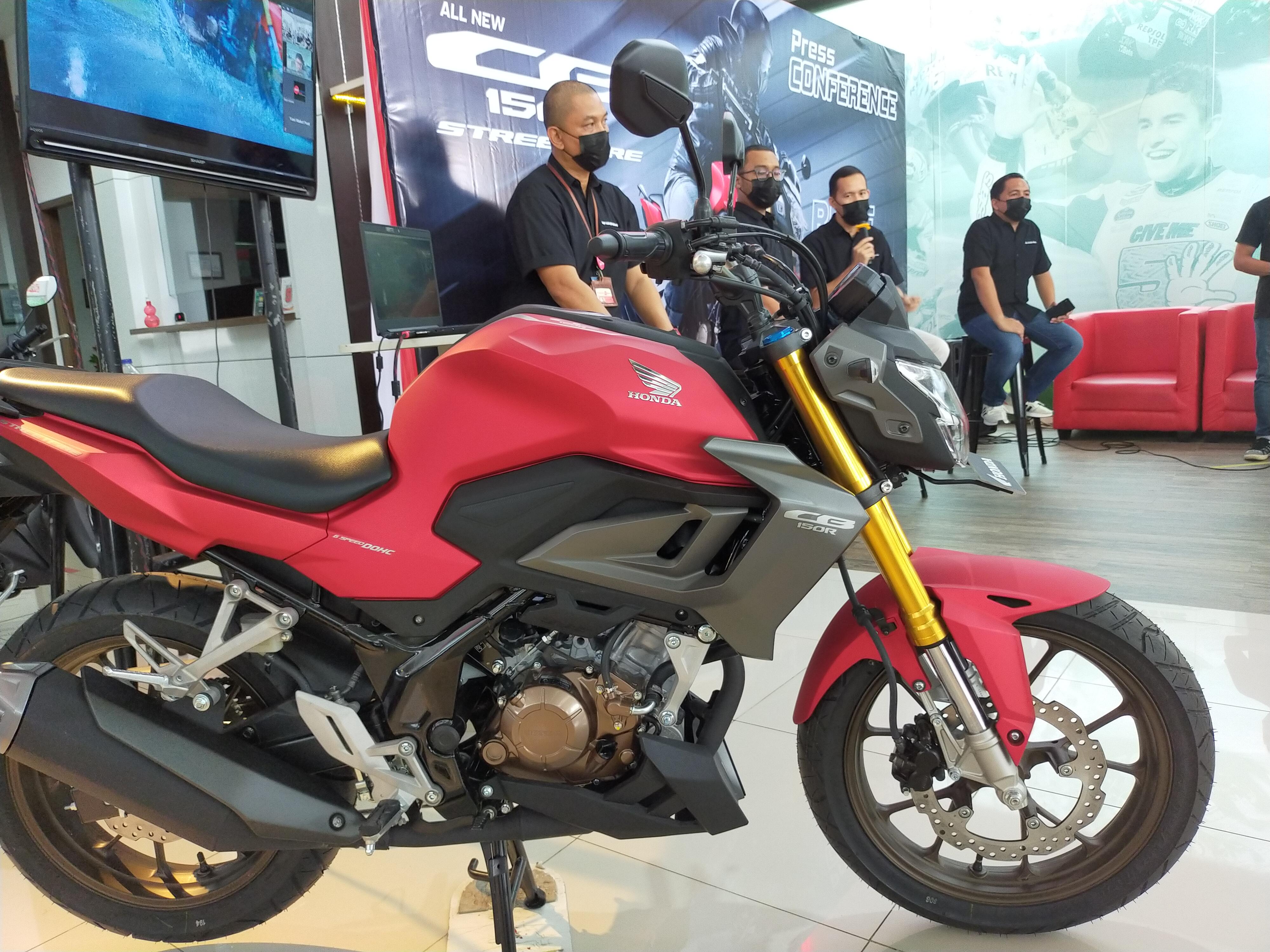 Besok, DAW Perkenalkan Motor Naked Sport All New CB150R di IG @Torang Honda