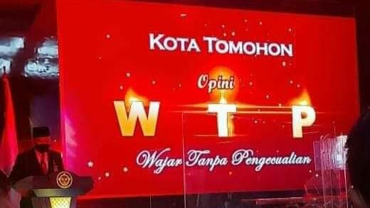 Kota Tomohon Raih Opini WTP ke-8, Caroll-Wenny: Ini Patut Disyukuri