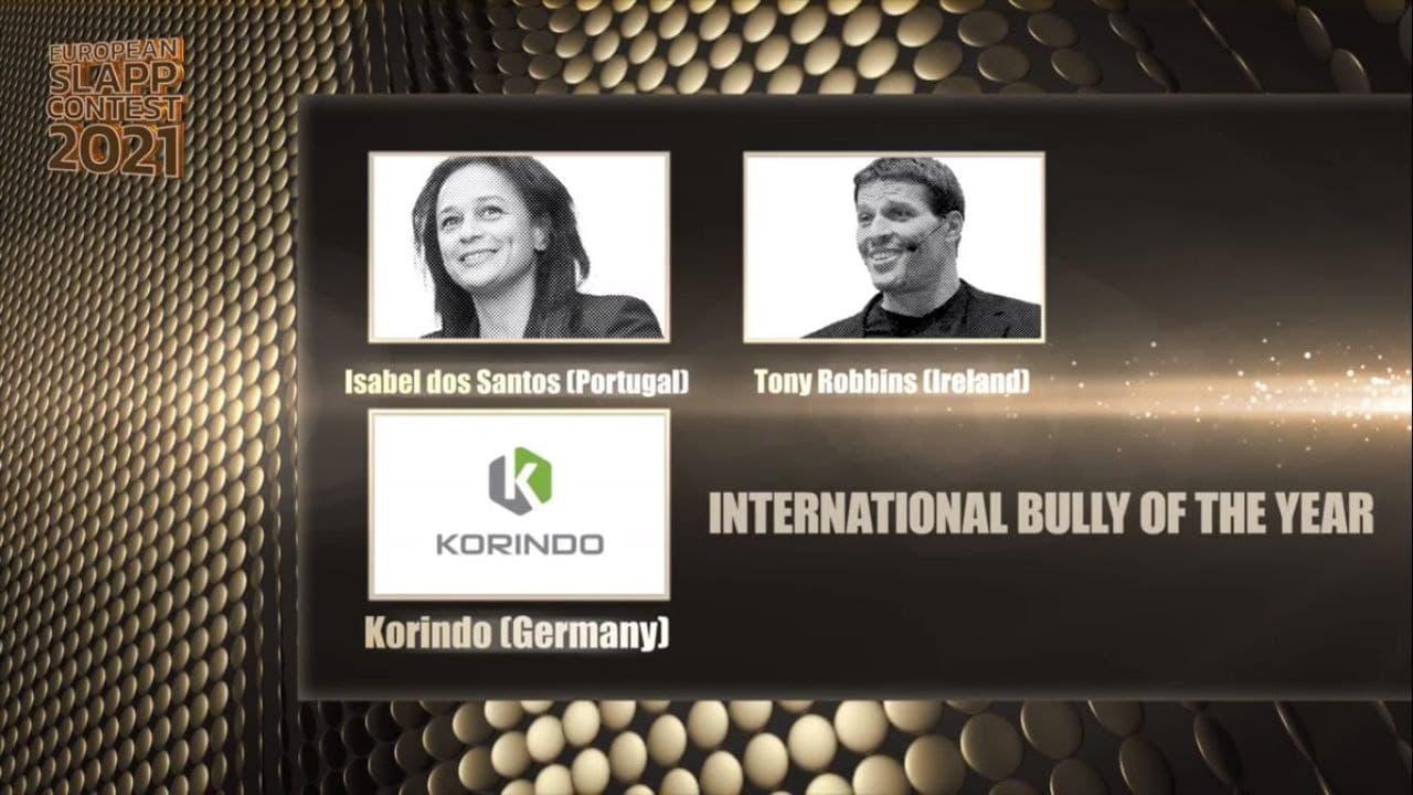 Grup Korindo Raih Gelar 'Internasional Bully of The Year' di Belgia