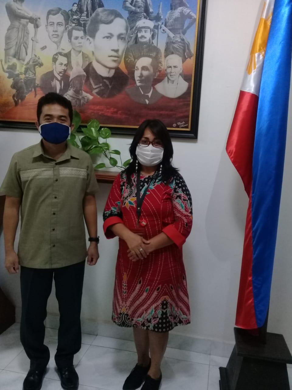 Iven Pariwisata Minsel dapat Dukungan Konjen Filipina.