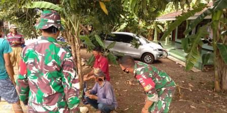 Menjelang dibukanya TMMD Reguler Ke-111, warga desa Tamansari sambut antusias