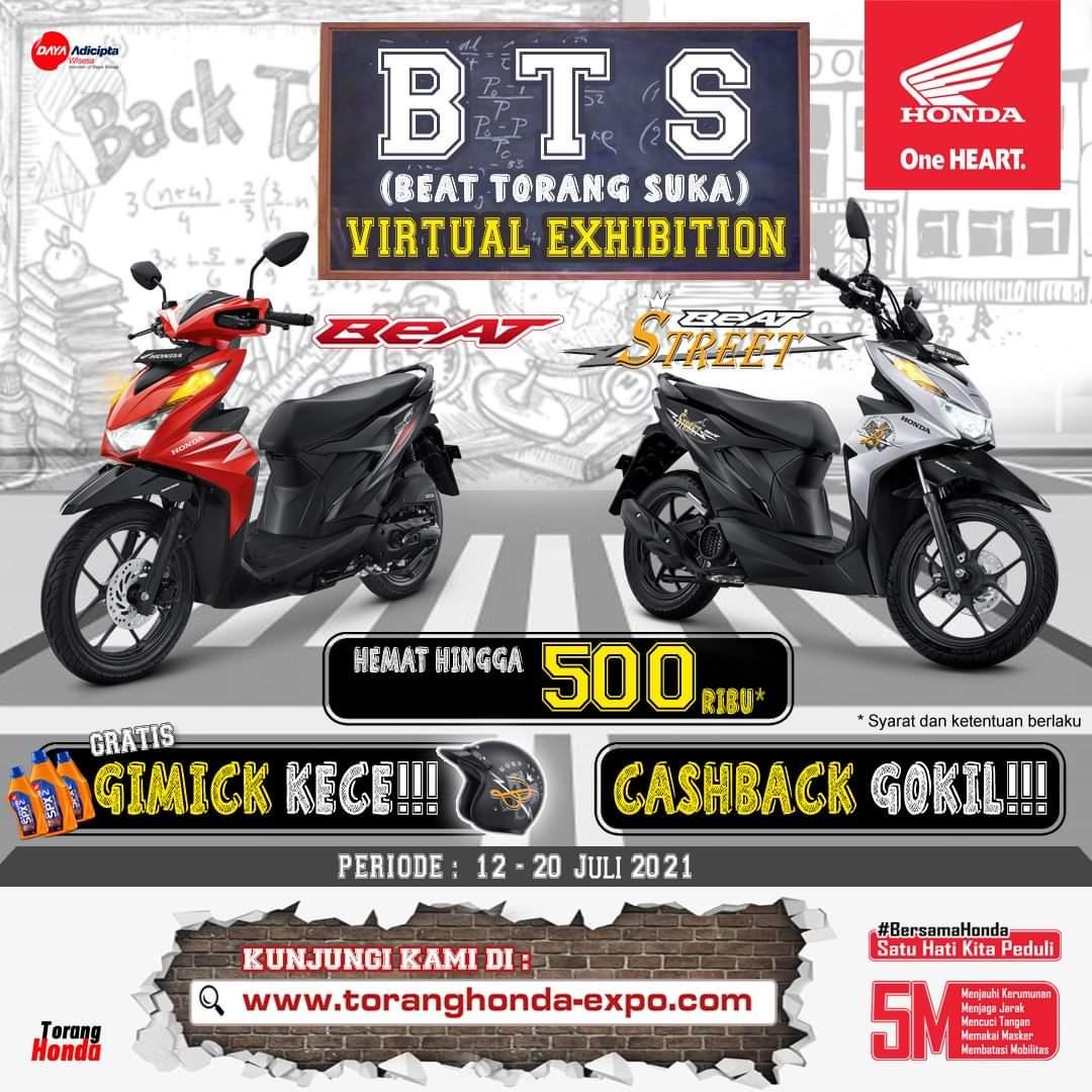Cashback Gokil, Promo Hemat untuk Pembelian Motor Honda