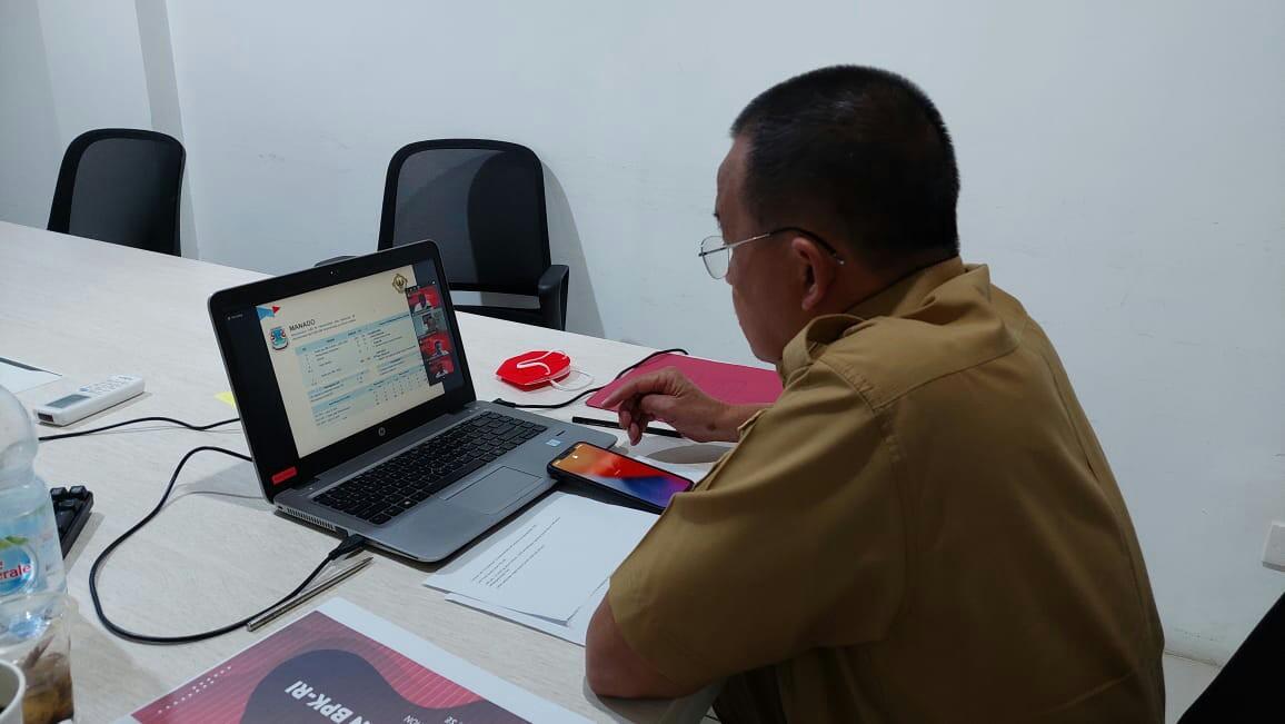 Gunakan Zoom Meeting, Wawali Wenny Ikuti Tindak Lanjut Pemantauan Kerugian Daerah